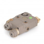 Анпек PEQ15 Green Laser/Flashlight (TAN)