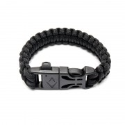 Браслет на руку Survival Paracord (Black)
