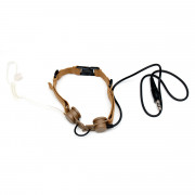 Гарнитура Ларингофон Tactical Throat MIC (TAN) Z033