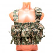 Разгрузочная система (1919) Chest Rig 6-Pocket (Digital Woodland)