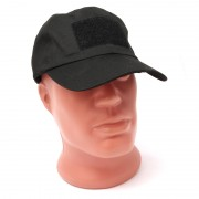 Кепка Baseball Cap Operator Tactical (Black) с липучкой