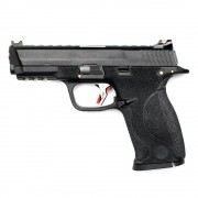 Страйкбольный пистолет (WE) M&P Big Bird Custom Black/Black/Silver (GGB-0383TM-BS)