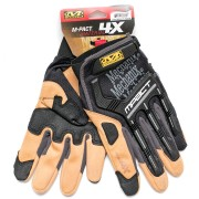 Перчатки (Mechanix) M-PACT 4X Glove Black/Tan (XL)