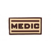 Нашивка 3D-Patch MEDIC desert