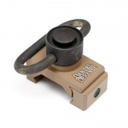 Антабка RIS Daniel Defense Sling Swivel TAN
