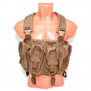 Разгрузочная система Pantac AK Chest Rig Khaki (VT-C036-TN-A)