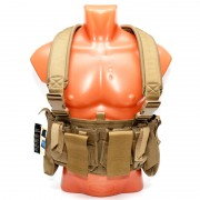 Разгрузочная система Pantac M4 Chest Rig Khaki (VT-C800-TN-A)